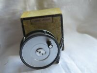 VINTAGE HARDY 4 PILLAR LIGHTWEIGHT 1950s TROUT FLY REEL BOXED