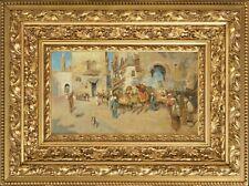 Edwin Lord Weeks - Orientalist art piece - SIGNED - HD Pictures
