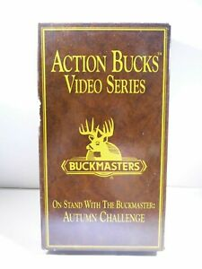 Buckmasters Action Bucks Video Series On Stand W/The Buckmaster:Autumn Challange