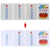 Happy birthday card group prediction magic tricks magic props IJ