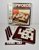 MB Upwords 1983 Vintage Retro 3D High Rise Word Game Family 2-4 Players Complete
