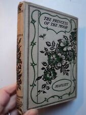 THE PRINCESS OF THE MOOR Marlitt Pretty Floral boards Old book hardcover