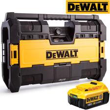 Dewalt DWST1-75663 Toughsystem Blutooth Radio DAB With 1 x DCB182 4.0Ah Battery