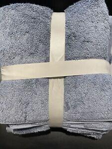 BN John Lewis - 3 Towel Set:1 Bath Sheet + 2 Hand Towels - Pacific