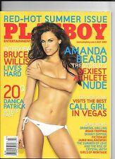 MEN'S INTEREST July 2007 Playboy ~ AMANDA BEARD ~ Tiffany Selby Playmate