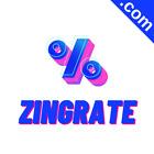 ZINGRATE.com 8 Letter Short  Catchy Brandable Premium Domain Name for Sale