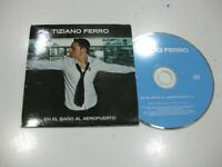 Tiziano Ferro CD Single Spanisch IN / Auf / Im El Bad Al Flughafen 2003 Promo