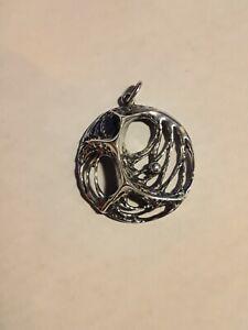Vintage Sterling Silver Artisan Pendant from Turku Finland 1973 by Salovaara