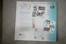 Creative Memories 2000 12 x 12 White Pages Scrapbooking 13 sheets 26 pages
