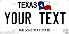 Texas 1998 Tag License Plate Personalized Auto Car Custom VEHICLE OR MOPED
