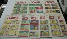 CONNECTICUT POST COLLECTIBLE COMICS - 19 VOLUMES - 1997-98