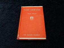 C1950s Hardback Editor of Tom Sawyer by Mark Twain, Illustrated AS Forrest