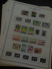 EDW1949SELL : GUINEA Mint & Used collection, all different on album pages