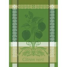 Garnier Thiebaut French Country Kitchen Dish Tea Towel CITRON VERT LIME New 2017