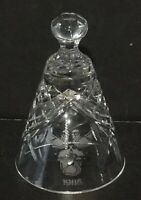 Vintage WATERFORD CRYSTAL  THREE FRENCH HENS BELL 1986