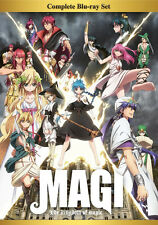 Magi: The Kingdom of Magic Ep. 1-25 Complete Anime Blu-ray Box Set R1 Aniplex