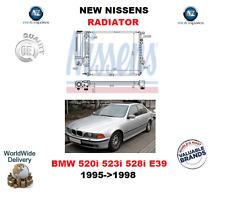 PER BMW SERIE 5 520 523 528 E39 1995->1998 NUOVO NISSENS RADIATORE OE QUALITY