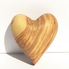 HEART OF LOVE Carved Holy Land Olive Wood+Gift Bag Valentine Day Romantic Lovers