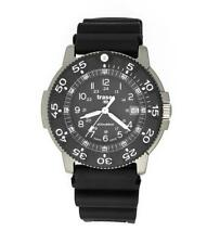 Traser Men Watch H3 Commander Force Titanium Black Dial and Rubber Strap 100340