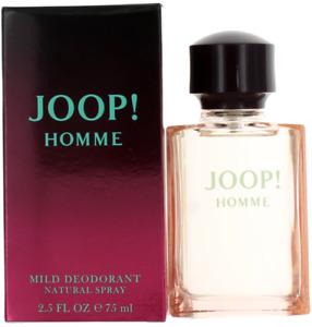 Homme By Joop For Men Mild Deodorant Spray 2.5oz New