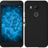 Black Slim Matte Hard Case Cover Skin Back For Google LG Nexus 5X H790 H791 5.2'