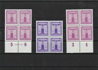 germany 1938 offical mounted mint stamps blocks ref 6929