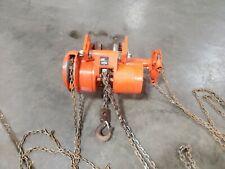 Cm Series 648 Cyclone Chain Low Headroom Geared Trolley Hoist 2 Ton 20