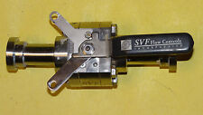 "NEW SVF Stainless Steel Ball Valve 3/4"" Flanged Ends 6000lb Rated H7-62 Series"