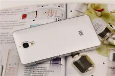 New HD Ultra Thin White Clear Transparent PC Case Cover Skin For Xiaomi 4 M4 Mi4