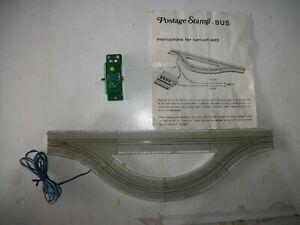 Vintage Postage Stamp N Bus System TURN OFF 4413 Turnout Switch track nice shape