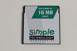 SIMPLE TECHNOLOGY NEC STN-VERSA/16 16MB MEMORY CARD