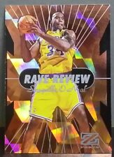 Shaquille O'Neal card Rave Review 97-98 Z-Force #9