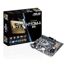 Asus H110M-A/M.2 Motherboard CPU i3 i5 i7 LGA1151 Intel DDR4 DVI VGA HDMI USB3.0