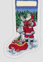 SANTA'S BOOT  IS A 14ct CROSS STITCH CHART 4  DMC THREAD