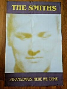 """23"""" x 35"""" The Smiths (Morrissey) - Strangeways, Here We Come 1987 poster"""