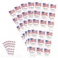 US Flag Stamps USPS Forever Stamp Booklet Star Spangled Banner First Class Mail