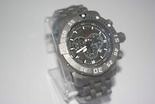 INVICTA SEA BASE 14283 SWISS MADE CHRONOGRAPH-TITANIUM CASE W/ SAPPHIRE CRYSTAL