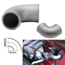 51mm Aluminum Pipe Joiner/Elbow Pipe Weld to Intercooler Turbo Outlet 90° Bend