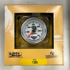 Auto Meter Mechanical NV Boost Gauge #7305