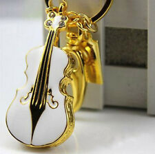 Wholesale NEW crystal violin real 8GB USB 2.0 Flash Memory Stick Pen Drive Gift