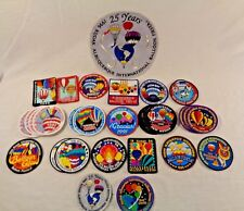 Lot of 59 Albuquerque International Balloon Fiesta Pins & Patches 80's 90's