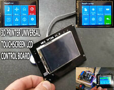 "3D PRINTER TOUCH SCREEN CONTROL BOARD LCD TFT COLOUR 2,8"" ARM32 USB SD   MARLIN"