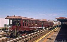 Original Photograph: New York Subway BU El car 1407 at 39th/Beebe