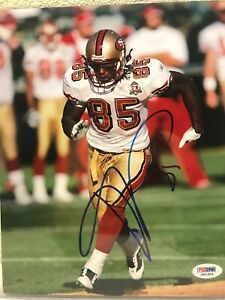 Vernon Davis Signed San Francisco 49ers 8x10 Photo PSA/DNA
