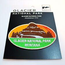 Official Glacier National Park Souvenir Patch Montana Iron-on