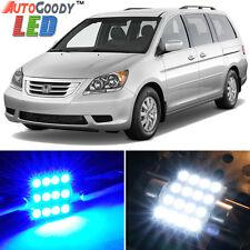 17 x Premium Blue LED Lights Interior Package Kit for Honda Odyssey 05-10 + Tool