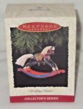 HALLMARK KEEPSAKE ORNAMENT-ROCKING HORSE COLLECTOR'S SERIES-16 IN THE SERIES-NIB