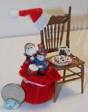 Dollhouse Miniature Christmas Santa Chair F 1:12 inch scale H107 Dollys Gallery