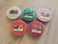 5 x Yankee Candle Wax Tart Bundle. Home Fragrance, Scent. No Duplicates.