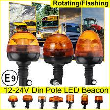 13Typs 12/24V Rundumleuchte Blinklicht Warnleuchte Blitz LED Traktor Anhänger E9